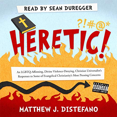 Heretic! audiobook cover art
