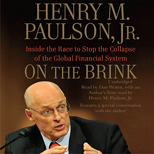 On the Brink audiobook cover art