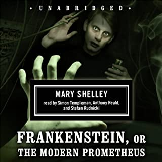 Frankenstein, or The Modern Prometheus audiobook cover art