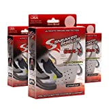 (3 Pair) The Original Sneaker Shields'GEN-X Universal' - Crease Preventer - Beware of COUNTERFEITS - Protector Against Shoe Creases - for Running & Casual Shoes - Toe Box Crease Protector (Large)