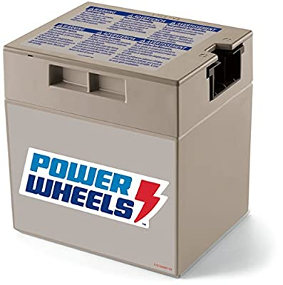 Power Wheels 12-Volt Rechargeable Battery by Fisher-Price