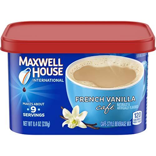 Maxwell House International French Vanilla Café Instant Coffee