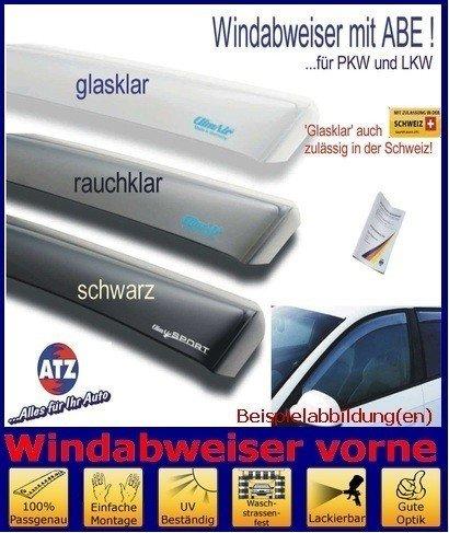 ClimAir Windabweiser vorne (mit ABE) 03-3743D, Farbausführung: schwarz