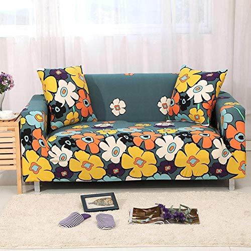 WXQY Funda elástica para sofá, sofá elástico, sillón en Forma de L, Funda combinada, Funda para sofá, Toalla, Funda para sofá, Funda Protectora para Muebles A13, 1 Plaza