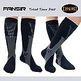 Compression Socks for Men & Women, Better Blood Circulation, Prevent Blood Clots, Speed