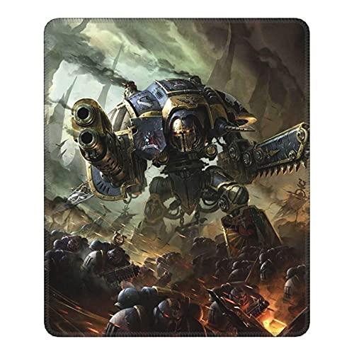Tapis de Souris Warhammer avec Base en Caoutchouc antidérapante, Tapis de Souris de Jeu d