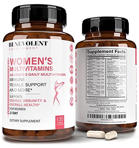 Multivitamin for Women - Supplement for Energy, Immunity, & Female...