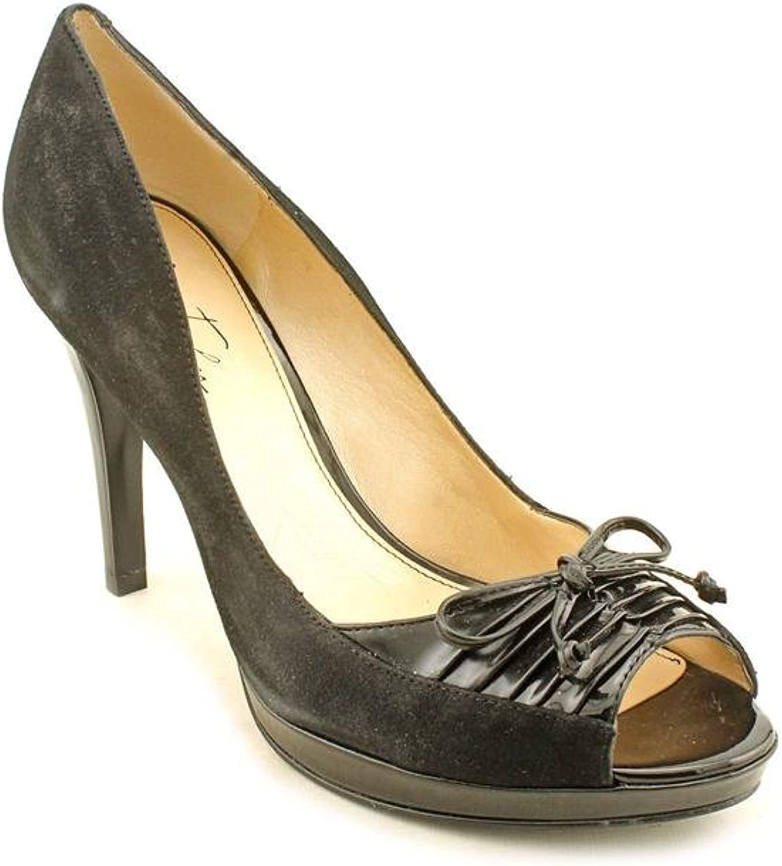 Marc Fisher Vicki 2 Womens Size 6 Black Suede Platforms Heels shoes
