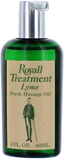 Lyme Fresh Massage Oil 2oz oil by Royall Fragrances