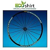 Ecoshirt RX-MQ27-HSSY Pegatinas Stickers Llanta Rim Mavic Crossmax SL Pro Am50 MTB Downhill, Menta 29'