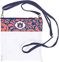 Desden Clear Game Day Crossbody for Accessories & Cosmetics - Auburn Tigers