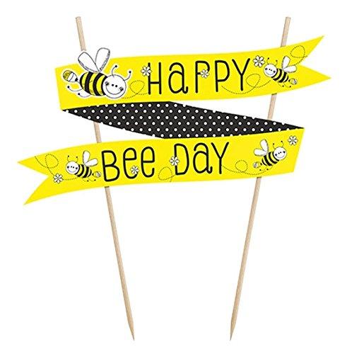 Kuchendeko Tortendeko Biene Kindergeburtstag 1.Geburtstag Party Deko