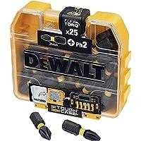 Dewalt DT70555T-QZ DT70555T-QZ-Juego de 25 Puntas Impact Torsion Ph2 25mm