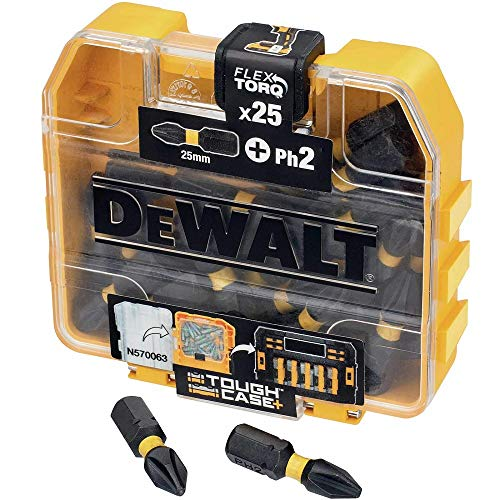 Dewalt DT70555T-QZ DT70555T-QZ-Juego de 25 Puntas Impact Torsion Ph2 25mm
