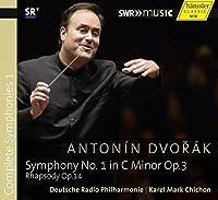 Dvorak:Symphony No 1 [Deutsche Radio Philharmonie Saarbrucken Kaiserslautern, Karel Mark Chichon] [HANSSLER CLASSIC: 93.330] by Deutsche Radio Philharmonie Saarbrucken Kaiserslautern