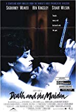 DEATH AND THE MAIDEN (1994) Original Authentic Movie Poster 27x40 - Single-Sided - ROLLED - Sigourney Weaver - Ben Kingsley - Stuart Wilson