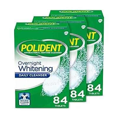 Polident Overnight Whitening Denture