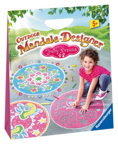 Ravensburger 29781 - Fairy Dreams - Outdoor Mandala-Designer
