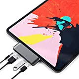 USB C Hub for MacBook, USB C Adapter Applicable for iMac Pro, MacBook Air, Mac Mini/Pro, Surface Pro, Notebook PC, Laptop, USB Flash Drives, and Mobile HDD (Dark Grey)