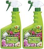 Compo Duaxo Rosen Pilz-Frei AF, Bekämpfung von Pilzkrankheiten an Rosen, Zierpflanzen und Kräutern, Anwendungsfertige Handsprühflasche, 1500 ml