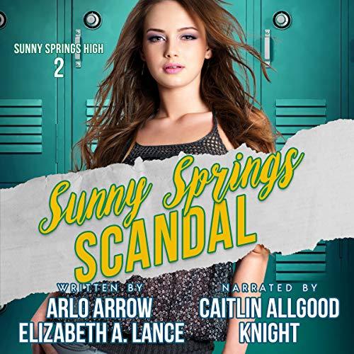 Sunny Springs Scandal audiobook cover art