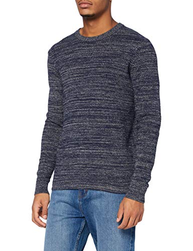 Garcia Herren V01244 Pullover, Intense Blue, XL