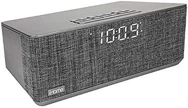 iHome Bluetooth Dual Alarm Stereo Clock Radio w/Dual USB Charging