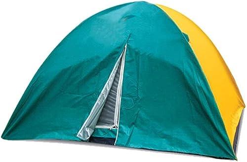 QYYZP Tente de Camping, Double Couche portative de résistant à l'eau portative de Tente de Moustique extérieure de 8 Personnes avec la Tente d'enfants de Grandes tentes de Plage