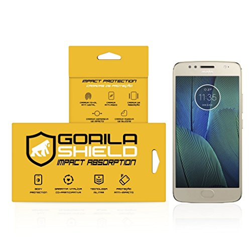 Película Nano Gel Dupla para Motorola Moto G5S Plus – Gshield (Cobre toda tela)