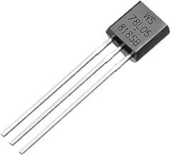uxcell 100pcs WL78L05 Transistor Plastic-Encapsulate Power TO-92 Transistor NPN 5V 100mA 625mW