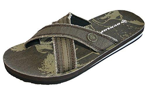 Dunlop , Herren Dusch- & Badeschuhe, Braun - Dunkelbraun - Größe: 10 UK