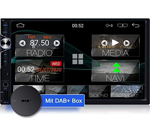 Tristan Auron BT2D7025A Android 10 Autoradio mit Navi + DAB+ Box I 7
