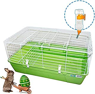 Conejo Botella de Agua alimentador de Agua para Gatos Cerdo Conejo a Prueba de Fugas Color al Azar M.Z.A 2 Botellas de Agua para Mascotas 16 onzas para Colgar sin Goteo cobaya