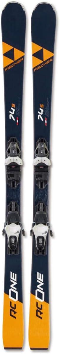 Fischer RC 4 years warranty One 74 S Skis specialty shop w Powerrail 170 RS Bindings 10 GW 2020