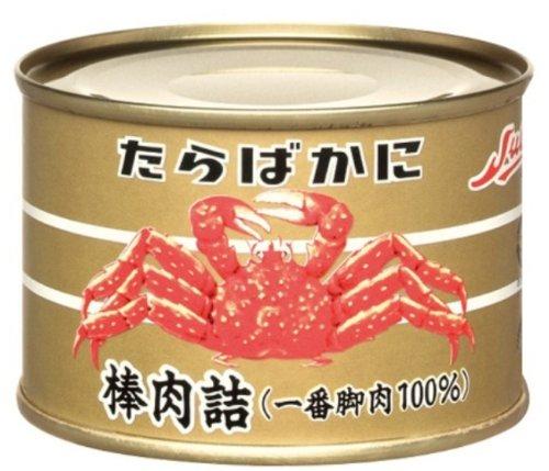 ストー缶詰『たらばがに 棒肉詰 一番脚力100%』