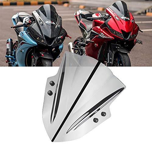 Cupolino Moto - Parabrezza Universale Regolabile Compatible Yamaha MT07 MT09 Tracer900 Tracer700 Tenere700 Kawasaki Z900 Versys 650 Z650