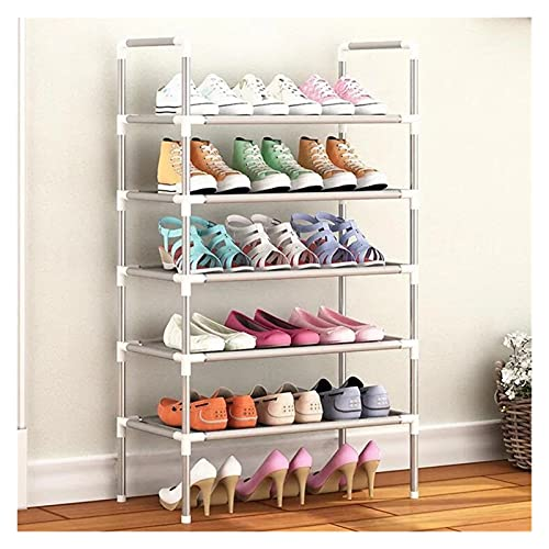 YANGYANG Allenzhang Zapato Organizador de Aluminio Metal de Aluminio Estante de Zapatos DIY Zapatos de Almacenamiento Estante de Almacenamiento Organizador de casa Accesorios (Color : 5 Layer)