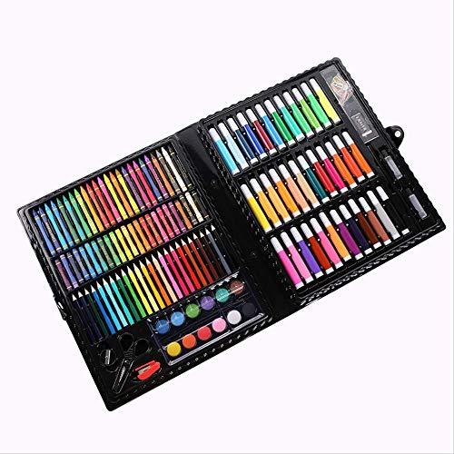 NOBRAND WHSG Kinderschilderij benodigdheden Aquarel Pen Kleur Potlood 150 Set Schilderij Set Aquarel Pen Art Training Class Prijs