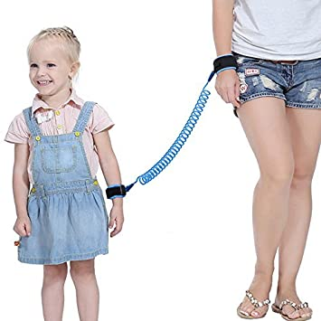 Blue Kids Leash Toddler Backpack Harness Sealive 2.5m Anti Lost Wrist Link 1pc Child leashes Safety Wristband for Walking