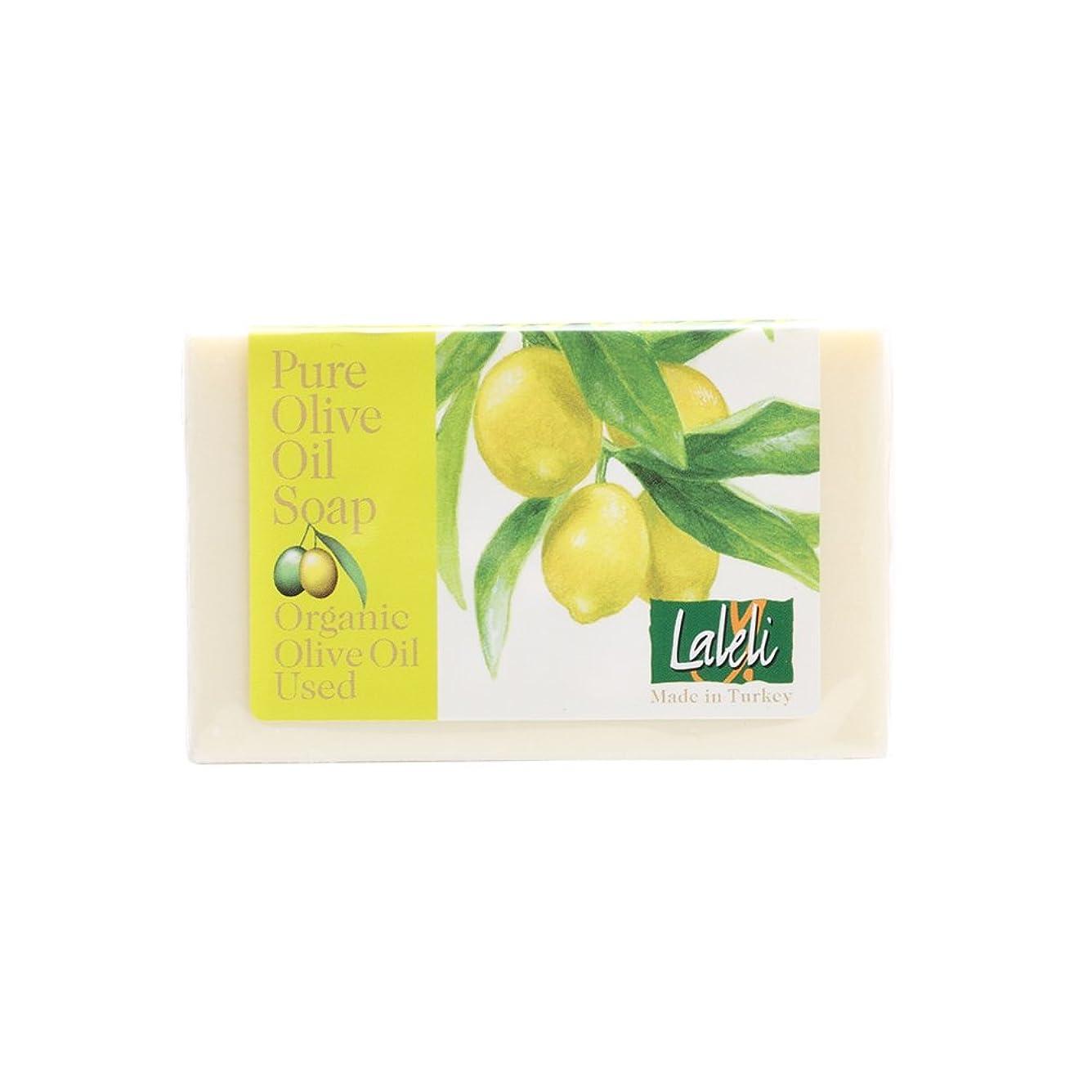 急降下ヤギ下向きラーレリ オーガニックオリーブオイルソープ レモン 120g