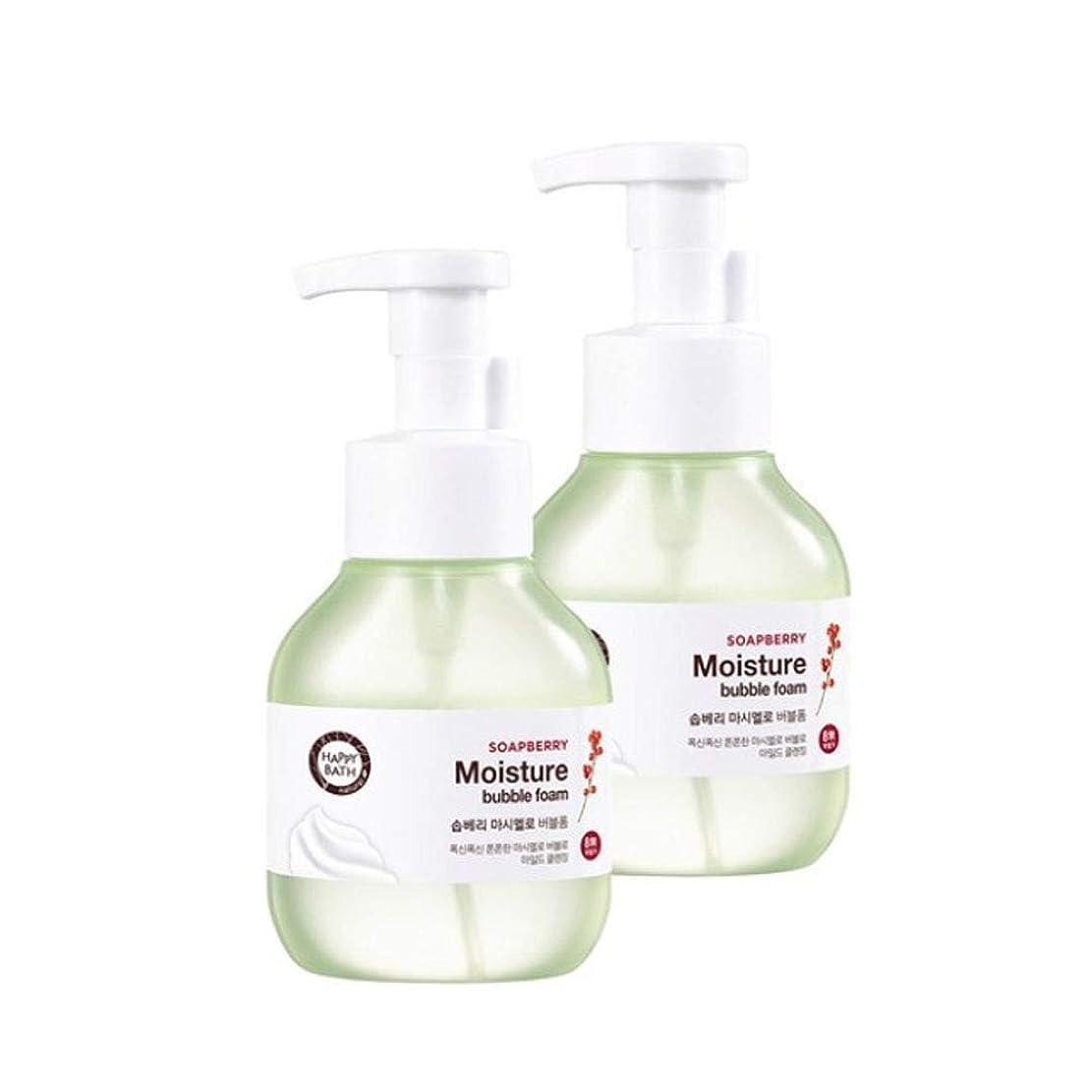 ハッピーバスソープベリーマシュマロバブルフォーム300mlx2本セット韓国コスメ、Happy Bath Soapberry Moisture Bubble Foam 300ml x 2ea Set Korean Cosmetics [並行輸入品]