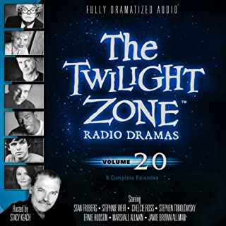 The Twilight Zone Radio Dramas, Volume 20 audiobook cover art