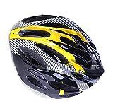LXLAMP Cascos MTB Hombre, Casco Ciclismo Carretera Cascos Ciclismo Casco Bici niño Casco de Ciclismo Deportivo Transpirable de Fibra de Carbono para Bicicleta de montaña