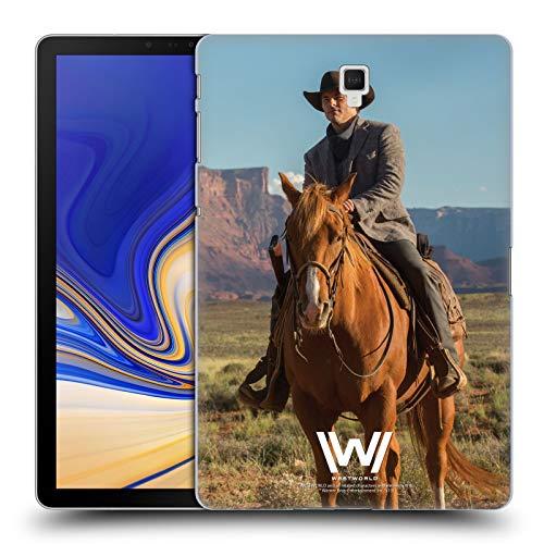 Head Case Designs Offizielle Westworld Teddy Flood Darsteller Harte Rueckseiten Huelle kompatibel mit Galaxy Tab S4 10.5 (2018)