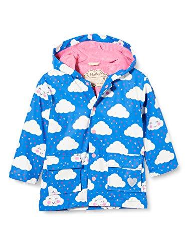 Hatley Printed Raincoat Abrigo para lluvia, Nubes alegres, 2 Years para Niñas