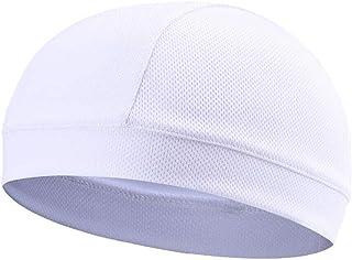feelingood 1 Pcs Moisture Wicking Cooling Skull Cap Inner Liner Helmet Beanie Dome Cap Sweatband