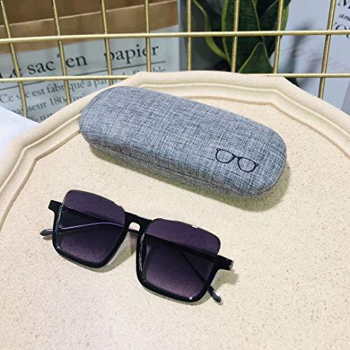 xingxing Las gafas de sol 2023 nuevas pinzas Street Box niño miedo de la protección UV gafas de viaje al aire libre (lentes color: rojo)