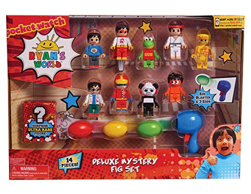 JP Ryans World JPL79255 Ryan's World Deluxe Fig Pack, ohne Farbe