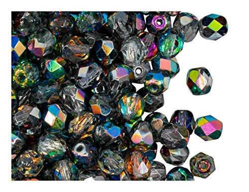 Perles à facettes 6 mm