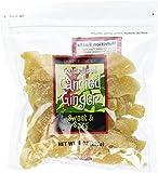 Trader Joe's Crystallized Candied Ginger, 8 Oz Bag (Pack of 2)